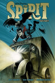 Will Eisner's The Spirit #2  It's the perfect week for pulp crime comics.  Matt Wagner and Dan Schkade give us a different look at Denny Colt's world; the Spirit has gone missing and it's up to Ebony and Sammy to become ace detectives and find out what happened to him.