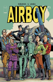 Airboy #3  Airboy is one of the most unique series in comics.  James Robinson gives us a different take on an autobiography that will have you begging for more.  Though only a mini-series, this is already becoming one of my favorite series of the year.  Greg Hinkle's art is some of the most outstanding and interesting in the medium.  This is a series that I can't recommend enough, but this one is definitely not for kids.