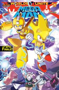 Mega Man #52 This is the final issue of the Mega Man and Sonic World's Unite crossover.  This series has been so much fun!  I played Sonic the Hedgehog and Mega Man both growing up so starting this crossover event was a no-brainer.  This is the grand finale and one that you don't want to miss!