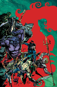 Aquaman #43 The King of the Seas is facing one of his biggest challenges yet.  A race from another plane of existence threatens Atlantis and it seems like Aquaman is on his own.  In this issue, Aquaman finds a way to even the odds and it's the coolest thing to happen since Cullen Bunn has started the series.  It's one you have to check out!