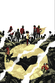 We Are Robin #3 It's great the DC has been putting out books that revolve around Gotham but don't center around Batman.  This story to me is like The Warriors meets West Side Story.  A team of young people taking on the sidekick identity in the absence of Batman.  It's a totally fun read.