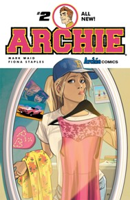 Archie #2 Archie's re-imagining continues as a new school year is starting and Archie hunts for a new job to fix his car. Some new job opportunities have popped up in Riverdale, but who is behind it? This series is getting a breath of fresh air and it's one for all ages, check it out!