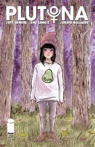Plutona #1 I've been a big fan of Emi Lenox's art ever since I picked up her sketch diary EmiTown. She has been climbing the underground art world and is now a hired gun for Image Comics. I'm excited to see how she brings Jeff Lemire's new book to life!