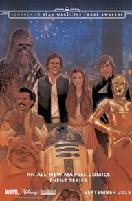 Star Wars: Shattered Empire #1  This book takes place right after the final battle in Return of the Jedi. Just when the Rebellion thinks they've won, some intel comes in that shows there are still Imperials out there who mean to counter-attack Endor. Han Solo takes a special task force to investigate, and the rest you'll just have to read for yourself!