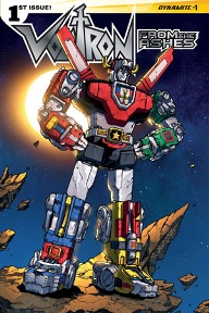 Voltron from the Ashes #1 I am a huge Voltron fan; I love the show from the 80's, I've watched the newer shows they've done since then, and I've read just about every comic series that's come out.  From the Ashes is a fresh series featuring brand new characters, and while I was worried that my inner fanboy would come out and I wouldn't like the new characters, Cullen Bunn wrote this issue very well and I'm excited for the next one.  If you're a fan of Voltron, or just big robots in general, give this book a try.