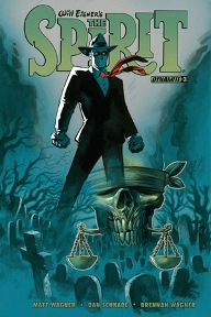 Will Eisner's The Spirit #3 I'm a sucker for pulp heroes, and the Spirit is probably the most iconic pulp hero out there.  The mystery continues to figure out who was behind Denny's disappearance, but Ebony White and Sammy Strunk are on the case!  Their sleuthing takes them to Irongate Prison where we get to see a good flashback story featuring the Spirit and Sand Seraf.  This series is always a lot of fun, Matt Wagner never disappoints.