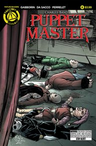 Puppet Master #6 Since I was nine or ten I have loved watching Full Moon's Puppet Master movies! There haven't been any other movies in a long time, but now they have their own book!
