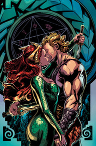Aquaman #44  Aquaman is the best it's been in years ever since Cullen Bunn took the reigns. Arthur has finally learned who is behind what's been going on in Atlantis, but the way he discovers it may just haunt him for the rest of his life. The story in this series is great, the art is just as good, and I love Aquaman's look. This is consistently one of my favorite titles each month.