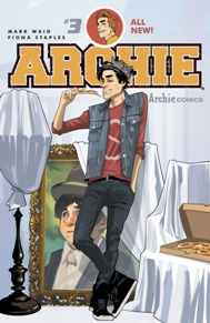 Archie #3  Veronica makes her full debut in this issue and Archie is eating out of the palm of her hand! Betty claims she doesn't care (but we all know she does). It's nice to have a book each month that is as fun and carefree as Archie. It's not the Archie we're used to but it is one that I'm behind 100% From superstars Mark Waid and Fiona Staples, this is a book you need on your pull list!