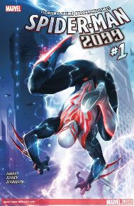 Spider-Man 2099 #1  Peter David has killed it with this book! And now we get brand new stories! Ever since the original 2099 stories came out Spider-man 2099 has always survived. Maybe not in his own title but he definitely shown up in many of series, same costume and all. Now, it's a new day in Marvel and time for Change in the Spider-man 2099!