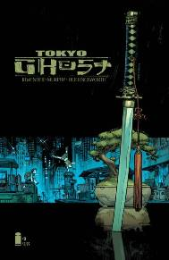 Tokyo Ghost #2  Tokyo Ghost is one of those series that makes you sit back and think about the world.  The comic takes place in the future where technology has completely taken over and ruined society.  The main characters, Led and Debbie, are stuck in Los Angeles and trying to escape to the tech-free paradise that's rumored to be in Tokyo.  Rick Remender, Sean Murphy, and Matt Hollingsworth have delivered us a new series that I just can't get enough of.  I highly suggest Tokyo Ghost.