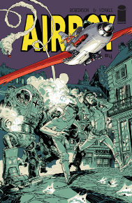 Airboy #4  This is the last issue of James Robinson's Airboy. This series has been hands down one of the best series to come out this year. Robinson really puts himself out there in this book and it gives me a greater appreciation of his work. Greg Hinkles art pairs well with Robinson's story telling to give us a great conclusion to one of my favorite books.