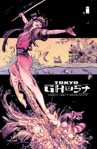 Tokyo Ghost #3   I know I've already raved over this issue recently but it's just that good. Rick Rememder (writer of Low, Deadly Class, Black Science, Uncanny X-Force) gives us a scary look into the possible future of our world. Where technology has consumed the majority of the population and one couple is trying to escape to a better life. I cannot speak highly enough of this book.