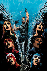Titans Hunt #2 I think anyone who was a fan of the 80's Teen Titan team will really enjoy the homage this book pays to them. It's really great how this story is bringing all of the 80's team together and in a well thought out way, that gives a break from the current Teen Titans book.