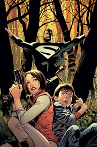Superman Lois and Clark #2  I think the biggest thing I like about this book is that it seems to be hinting that the New 52 is not the only DC Universe.  I also really like the idea of Superman doing a covert superhero thing, operating as a secret Superman, and as a father.  This is a pretty cool take on Superman!