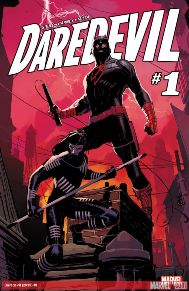 Daredevil #1  We were all sad when we found out that Mark Waid would no longer be writing Daredevil.  But I must tell you, you have nothing to fear with Charles Soule taking the wheel.  This first issue is fantastic; Daredevil is back in New York and he has a fresh start as both Daredevil and Matt Murdock.  Ron Garney is an absolute rock star on artistic duties as well, this book is gorgeous.  With all of this plus Daredevil's new sidekick, this is one book that's a must-read.