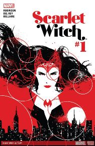 Scarlet Witch #1 James Robinson's name on the cover made me want to pick up this book and he didn't disappoint. Scarlet Witch is one of those characters I'm not crazy familiar with but always thought was cool. A mysterious new dark magic has made it's way to Wanda's city, and she feels like she needs to stop it as a part of a personal journey. The art style is perfect for the use of magic and darkness throughout, I'm hooked already.