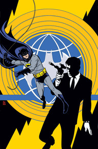 Batman 66 Meets the Man from U.N.C.L.E. #1 Two 1960s television icons cross paths for a groovy, globe-spanning adventure in this one-of-a-kind miniseries. The deadly organization known as T.H.R.U.S.H. has a new twist in their plans for world conquest—they're recruiting some of Gotham City's most infamous villains! Agents Napoleon Solo and Illya Kuryakin bring this information to the one man who knows everything about these new enemies: Batman.