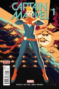 Captain Marvel #1 It has been weird to read a Captain Marvel book without Kelly Sue Deconnick on writing duty, but Fazekas did an excellent job taking off where Deconnick left it. Danver has always shown she has the ability to lead, but now it'll be her job to take charge of the new Alpha Flight.