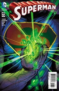 Superman #48  Clark is getting so close to getting his powers back... Or at least we think. And he's taking the most dangerous risk in doing so, obtaining Kryptonite! This has been a very long and drawn out story between two writers and multiple artist, but I feel like the story is really unique and will be worth the ending. I also love all the tie-ins the help fill in gaps in the store.