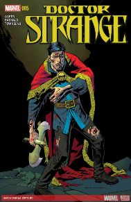 Doctor Strange #5 The Witchfinder Wolves are here and Doctor Strange is in trouble. The Empirikul is coming, Magic's days are numbered and Strange is not ready!  This book is always fun each month, it's nice to see Marvel's magical corner of the universe do so well and come to life like this.  If you're not reading this now you definitely should!