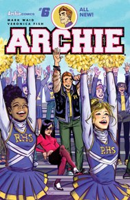 Archie #6 Archie and Jughead are on the outs with each other, and now Archie has no one to help him against the fury that is Hiram Lodge! Not even Veronica wants to go up against her own father!  This issue we get to see Reggie Mantle stir some trouble as well.  This is classic Riverdale antics with a fresh spin and I really enjoy this series.
