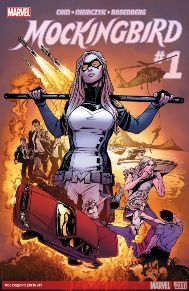 Mockingbird #1  Mockingbird is here and with her own series! I became a big fan of the character during her participation in Secret Avengers. This series deals with her health and the side effects of the super soldier serum as well as the infinity formula. There's a lot of humor in it and the medical side of SHIELD is not something you see everyday. I highly suggest trying this book out.