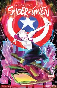 Spider-Gwen #6 This book has a very nice conclusion to this arc. Everything is tied up really nicely as far as how the manhunt for Spider-gwen has met ends-meet with Captain American and Harry Osborn. I think these last five issues have definitely set up for the even bigger stories in the future and I'm happy to see how Gwen's relationship wither her detective father works in this story. Really happy with the end of this arc.