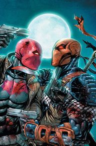 Deathstroke #16 Aww yeah—it's Deathstroke versus Red Hood! If Slade Wilson wants to find his missing daughter, he'll need to escape the sights of the deadliest Bat-family member of them all. Doesn't the cover pique your interest? This is one of the most beautifully drawn books I've seen a long time and it illustrates one of the coolest fights we could hope to see.  Check it out!