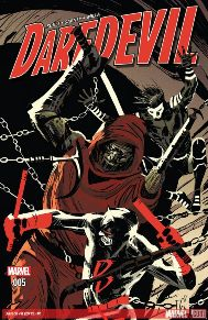 Daredevil #5  Matt Murdock struggles to come to grips with his failure to save Chinatown from the clutches of Tenfingers. Meanwhile, the self-proclaimed prophet revels as his the vision of his rapture is actualized. But not all prophecies are what they seem.