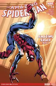 Amazing Spider-Man #1.4  The line between life and death has blurred! Spider-Man and the Santerians face a new mystical threat that will horrify you in ways you never imagined! This book is like Detective Comics to Batman, it's a nice break to Slotts current story and the art is great!
