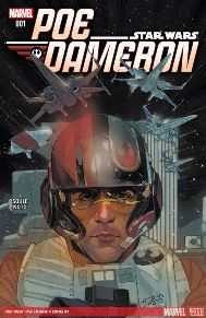 Star Wars: Poe Dameron #1 Poe Dameron, former Republic flyer turned Resistance fighter, is the best pilot in the galaxy. Hand-picked for the resistance by General Leia Organa to lead a squadron on a top secret and vital mission...Poe sets off investigating sites of historical importance to the Force. Revealing backstory leading directly into the holidays' greatest adventure, follow Poe and his X-Wing squadron on covert missions against the First Order!