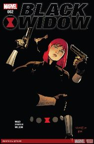 Black Widow #2 It's S.H.I.E.L.D.'s funeral as S.H.I.E.L.D.'s top brass gather to bury one of their own, they make an attractive target. Lucky for Maria Hill, the agency's persona non grata, Black Widow, is still watching over them. But that could mean Natasha will have a hard time watching her own back!