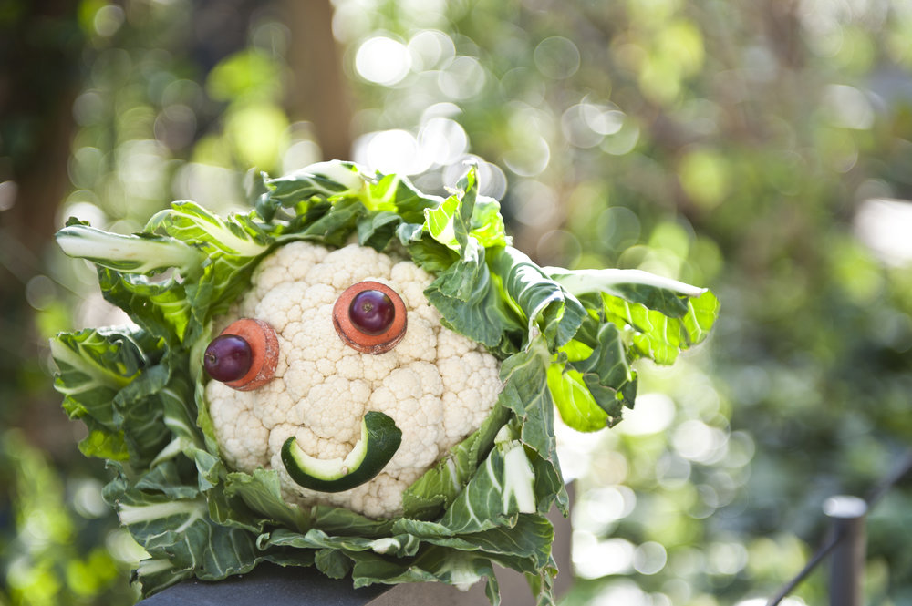 Vegetable creature making and crafts -