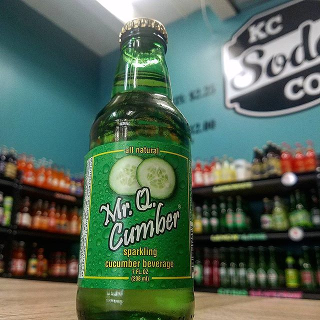 Day 19 of our Countdown to Christmas we have Mr. Q Cumber from Florida.  Using real cucumber extract, this delicious and refreshing drink tastes like biting into a real cucumber.  #24sodastoxmas #countdowntochristmas #cucumber #kcmo #kck #legendsoutlets #Citymarketkc
