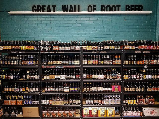 Think all root beer tastes the same? Think again. With 4 shelves of root beer there's something for everyone. Like sweet with little bite? Like less sweet and more bite? Need an all natural root beer? Want a flavored root beer? We've got it all. Come check it out! #rootbeer #kcsoda #legendsoutlets #Citymarketkc #massstreetsoda #drinklocal