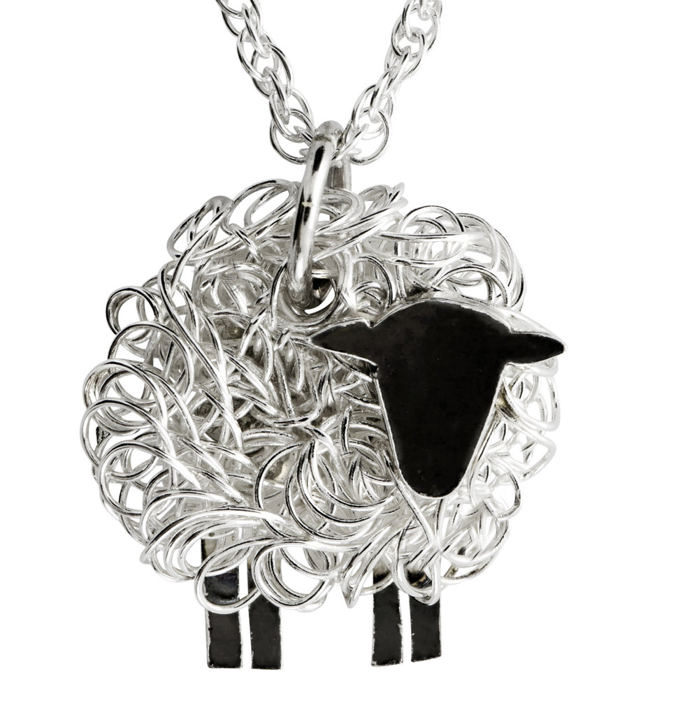 Have a look at our sheep jewellery
