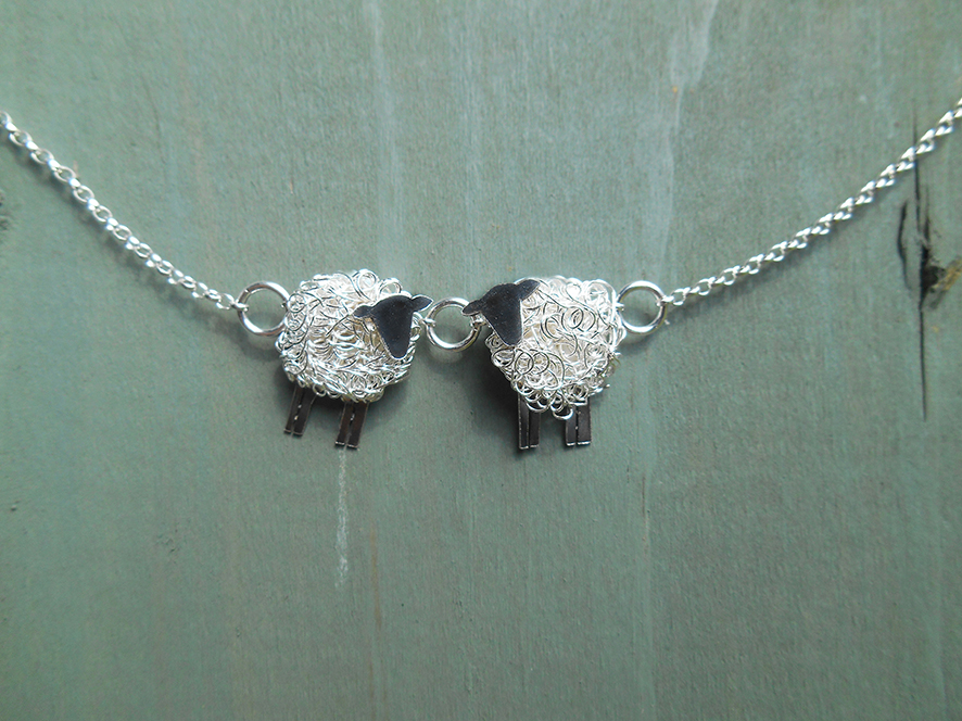 The perfect sheep jewellery gift for the one you love...