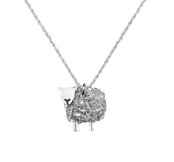 texel sheep necklace