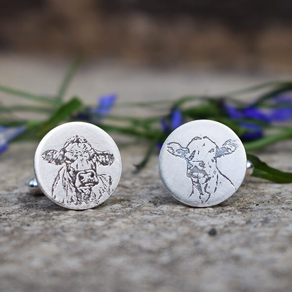 Stunning cow jewellery - View our range of cow jewellery gifts