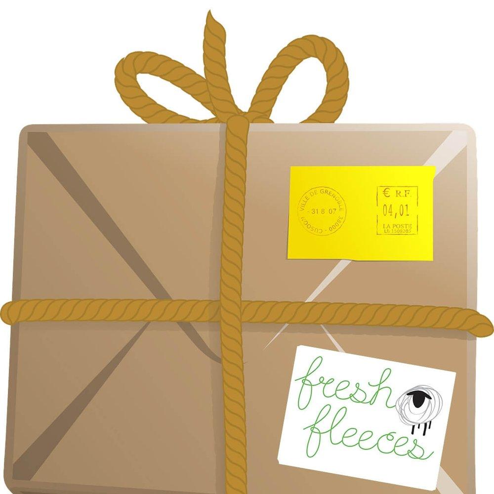 Overseas orders - We ship sheep jewellery & sheep jewelry worldwide!