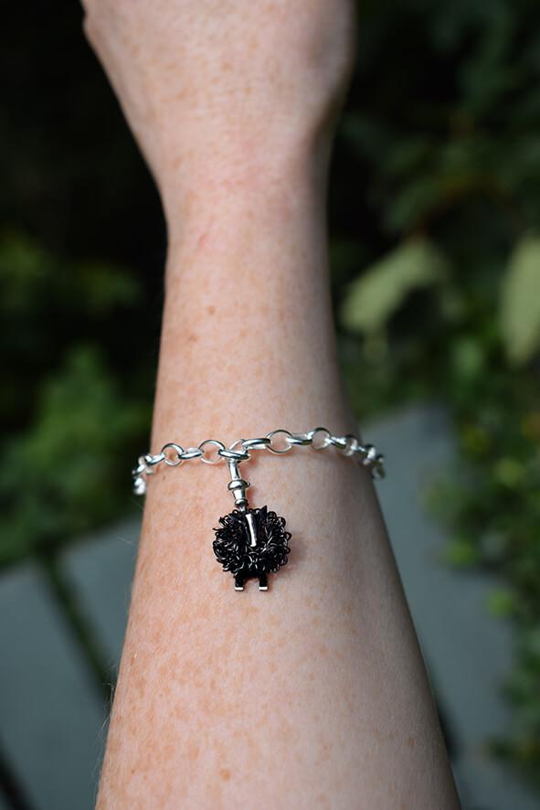 Zwartbles charm bracelet -