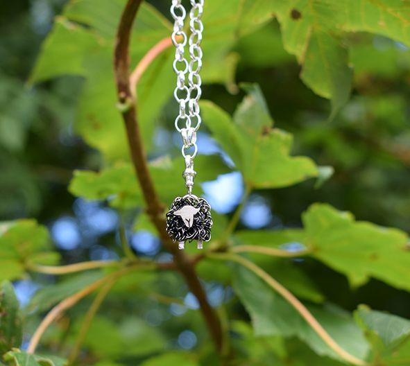 Herdwick sheep charm bracelet -