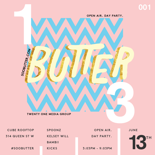 Day Waves begin June 13th 2015     3:03pm - 9:03pm    Saturday June 13th. 2015     Cube Rooftop    314 Queen St W.     Complimentary entry and food by @dirtybirdto between 3:03pm and 5pm on guest list        Click here to rsvp:  Upcoming Events