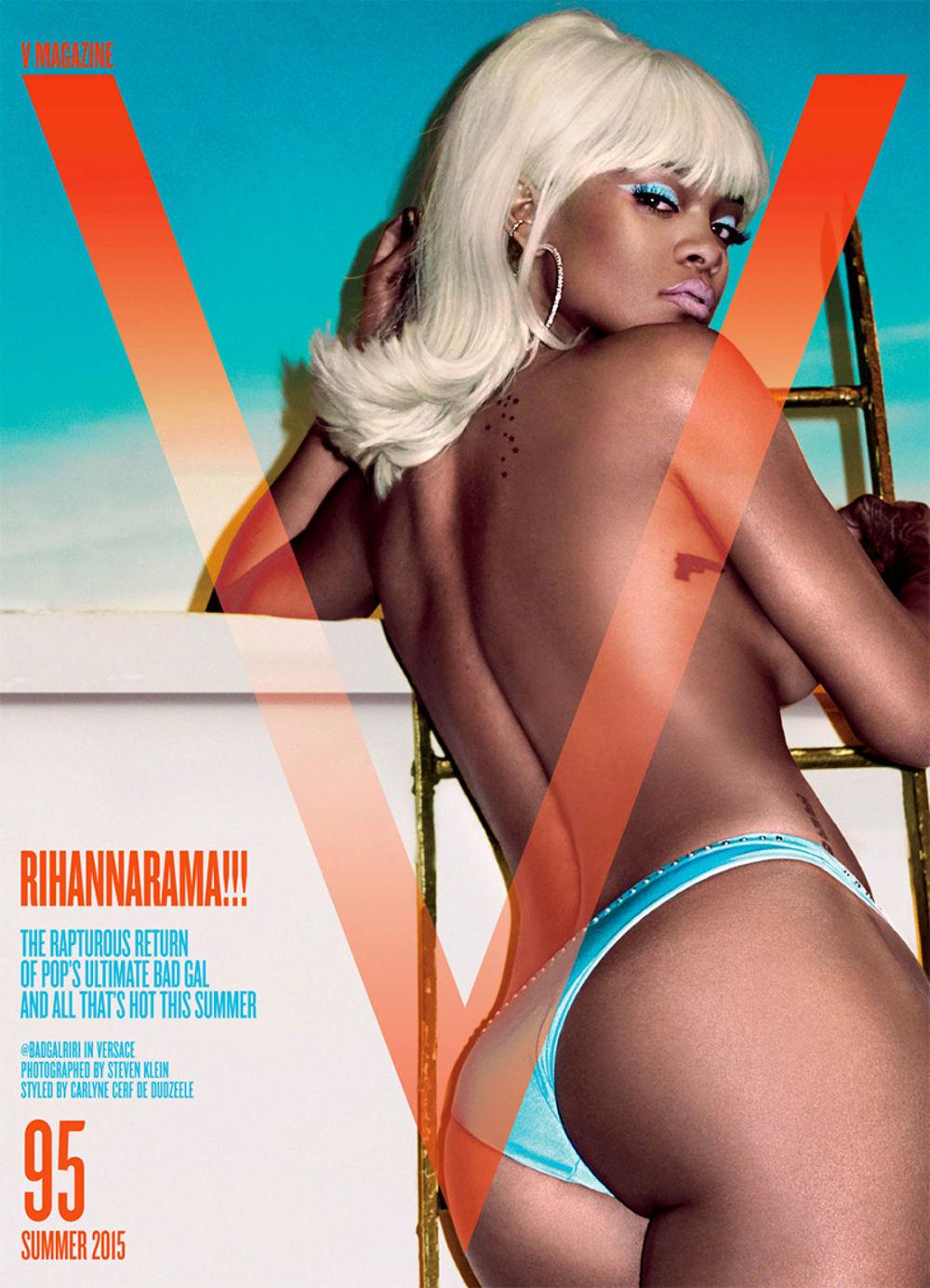 Rihanna for V magazine. Do we need to say more?