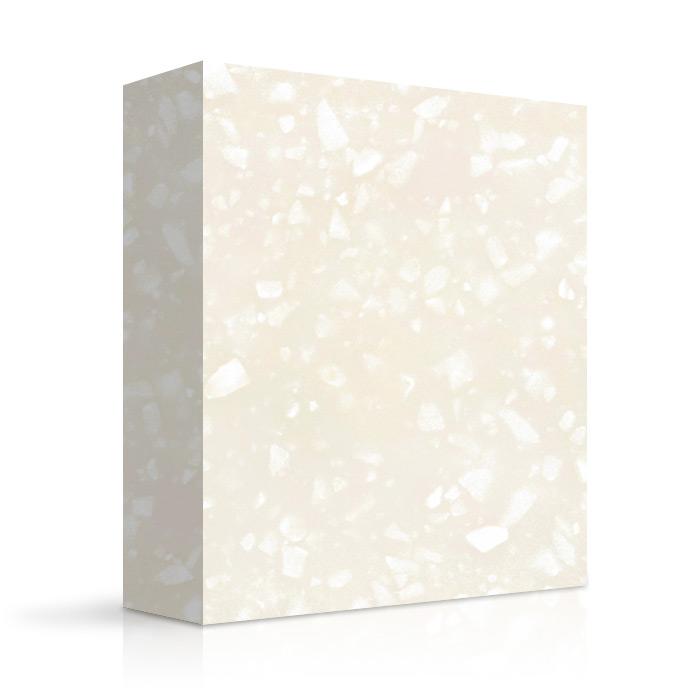 White Crystal Boulder