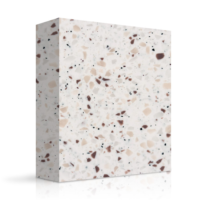 White Mosaic Granite