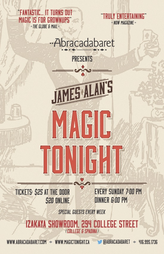 Magic Tonight Poster Small