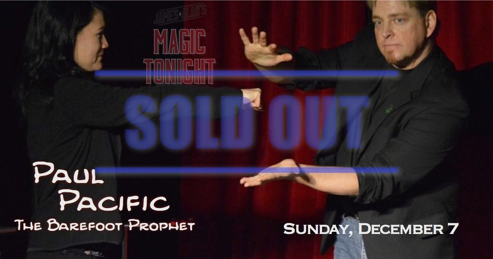 Dec 7 Pacific Sold Out