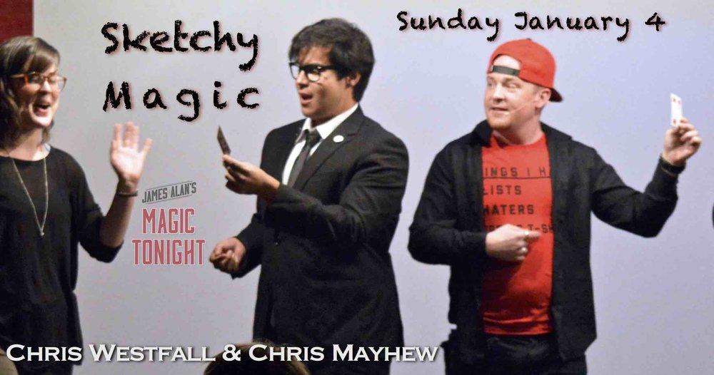 Jan 4 - Sketchy Magic